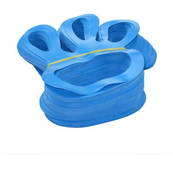 Fingerlinge Fingerfix Handschuhspanner blau 100er Pack